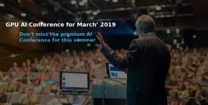 GPU AI CONFERENCE FOR MARCH' 2019