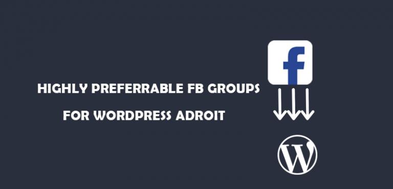 facbook-group-in-wordpress