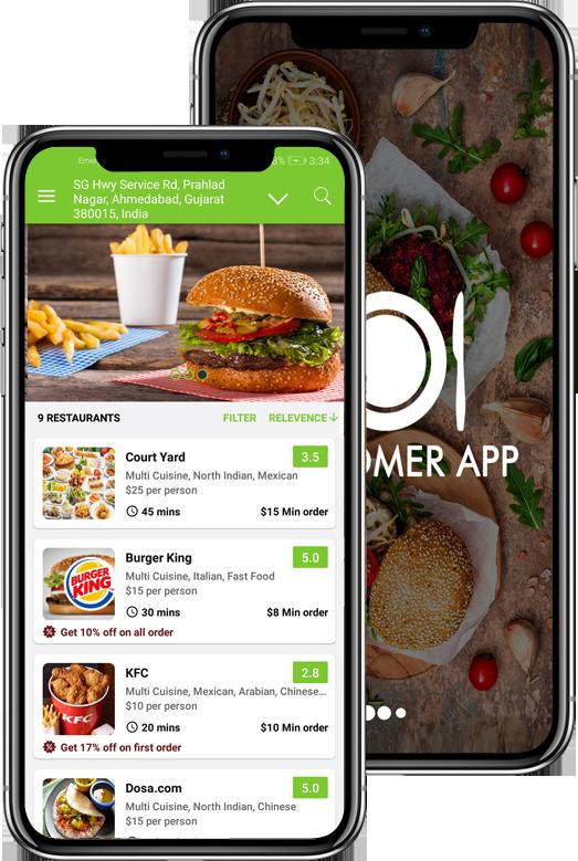 Food Delivery App | Multi-chain Restaurant App, Chennai