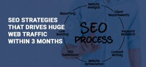 SEO STRATEGIES THAT DRIVES HUGE WEB TRAFFIC WITHIN 3 MONTHS
