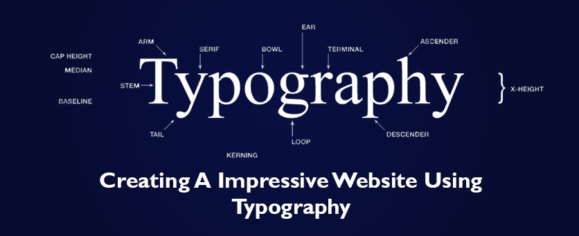 typography-and-website