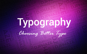 TYPOGRAPHY : ROLES ,TECHNIQUES, RESPONSIVE FOR WEBDESIGN