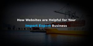 WHY IMPORT EXPORT INDUSTRY NEEDS A WEBSITE?