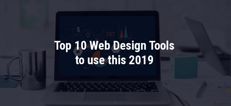 Web design tools use in 2019
