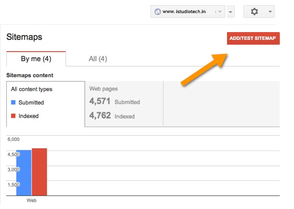 Addding Sitemap to Google Search Console