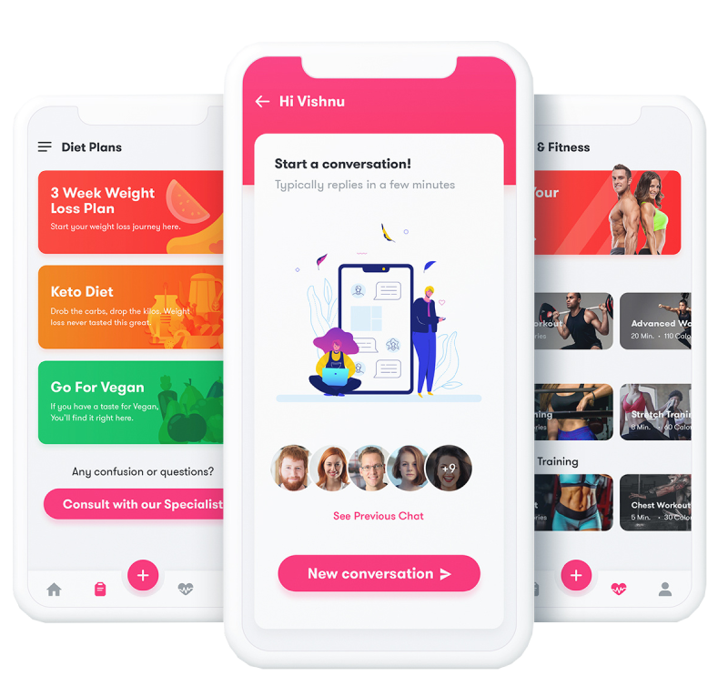 Fitness-app-Get our Guidance-istudio technologies