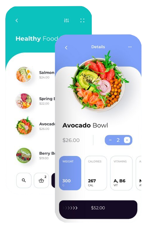 Fitness-app-Nutrition App Features-istudio technologies
