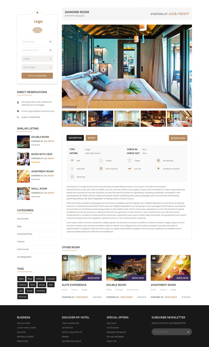 hotel-room-and-inner-page