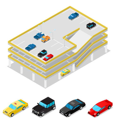 Service Verticals of Smart Parking Management-System - iStudio Technologies