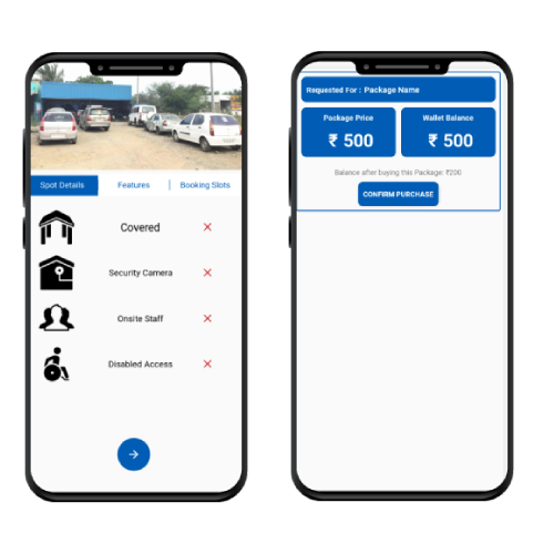 Smart-car-parking-area Charges - iStudio Technologies