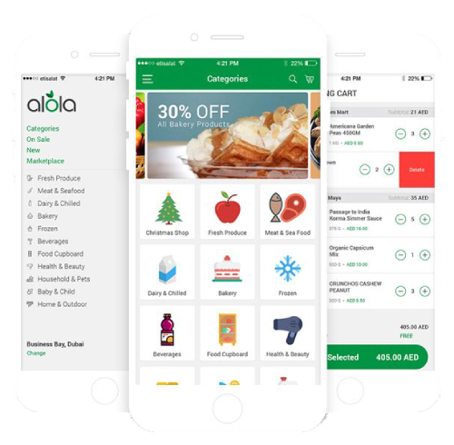 Grocery ECommerce Mobile App development