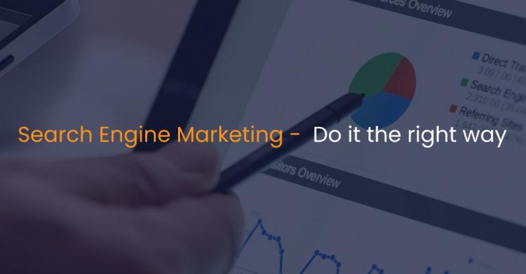 Search engine marketing - Do it the right way-IStudio Technologies